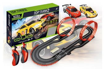 Turbo Racer Slot Car Racing Set