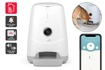 Kogan SmarterHome™ Smart Wi-Fi Pet Feeder with HD Camera
