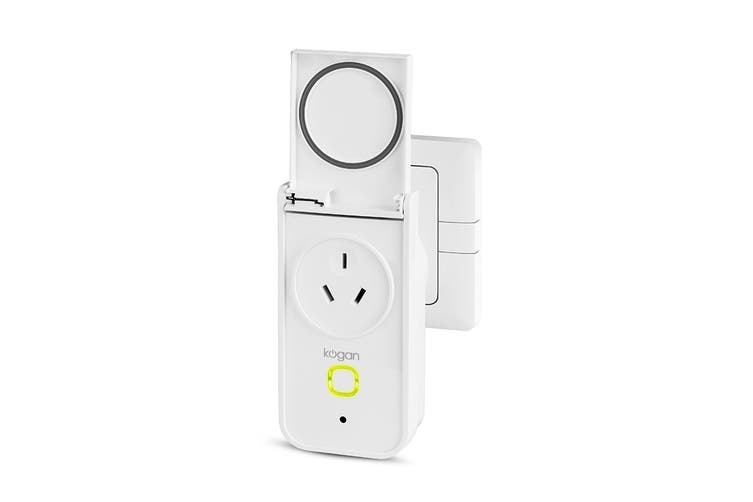 Kogan SmarterHome™ IP44 Outdoor Smart Plug With Energy Meter (4 Pack)