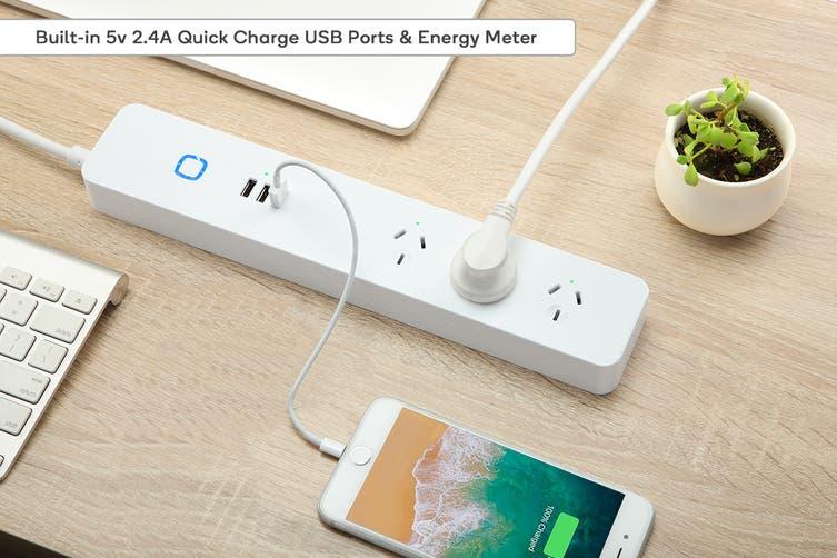 Kogan SmarterHome™ Smart Power Board With USB Ports & Energy Meter