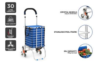Ovela Foldable Shopping Trolley