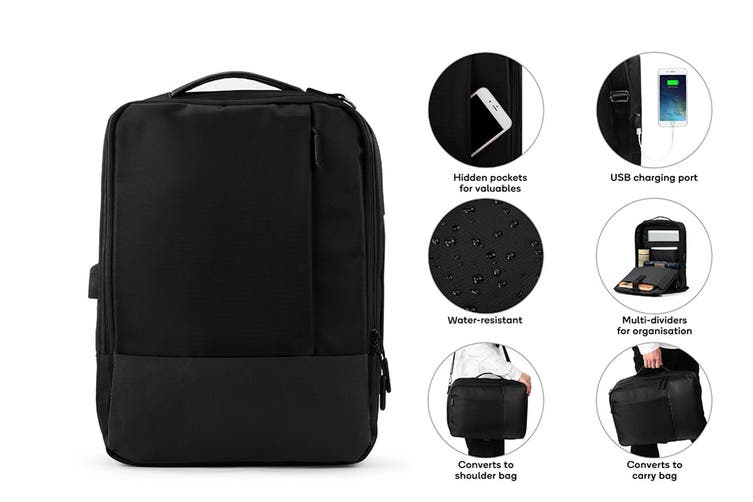Universal Travel Backpack with USB Charging Port