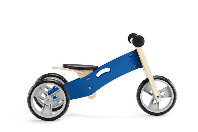 2-in-1 Trike & Balance Bike (Blue)
