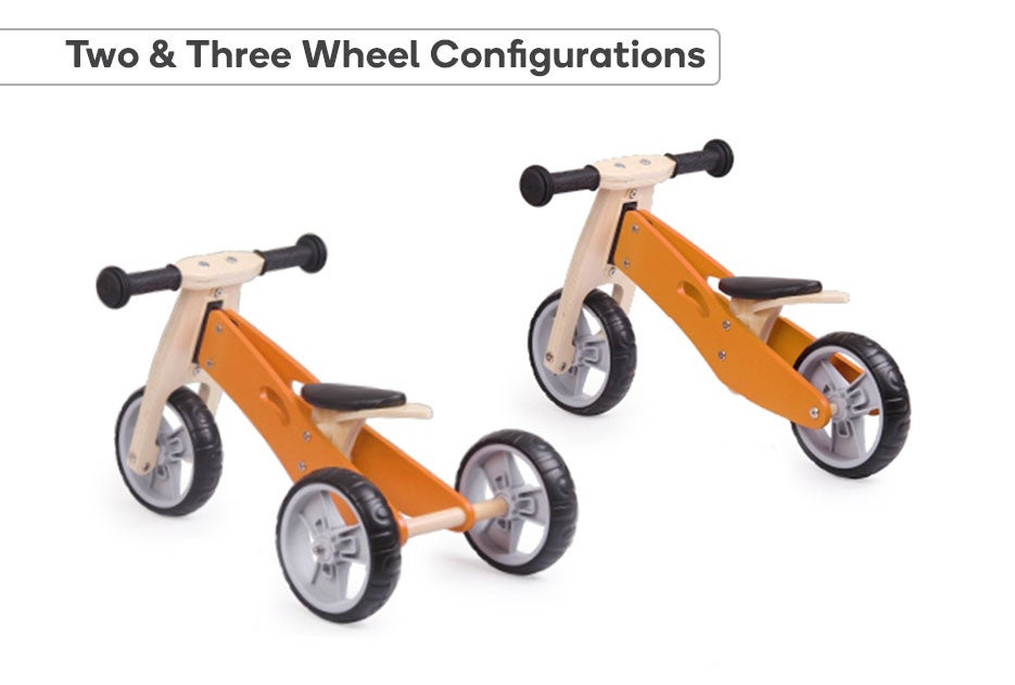 Two & Three Wheel Configurations