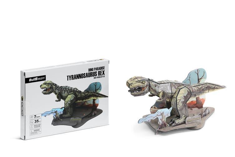Triceratops / Stegosaurus / Tyrannosaurus Rex 3D Puzzle Combo
