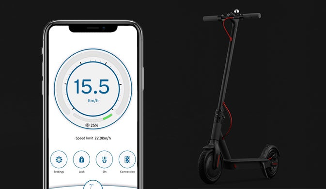 Urban Traveller Scooter App