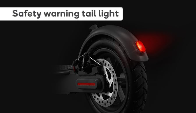 Safety Warning Tail Light