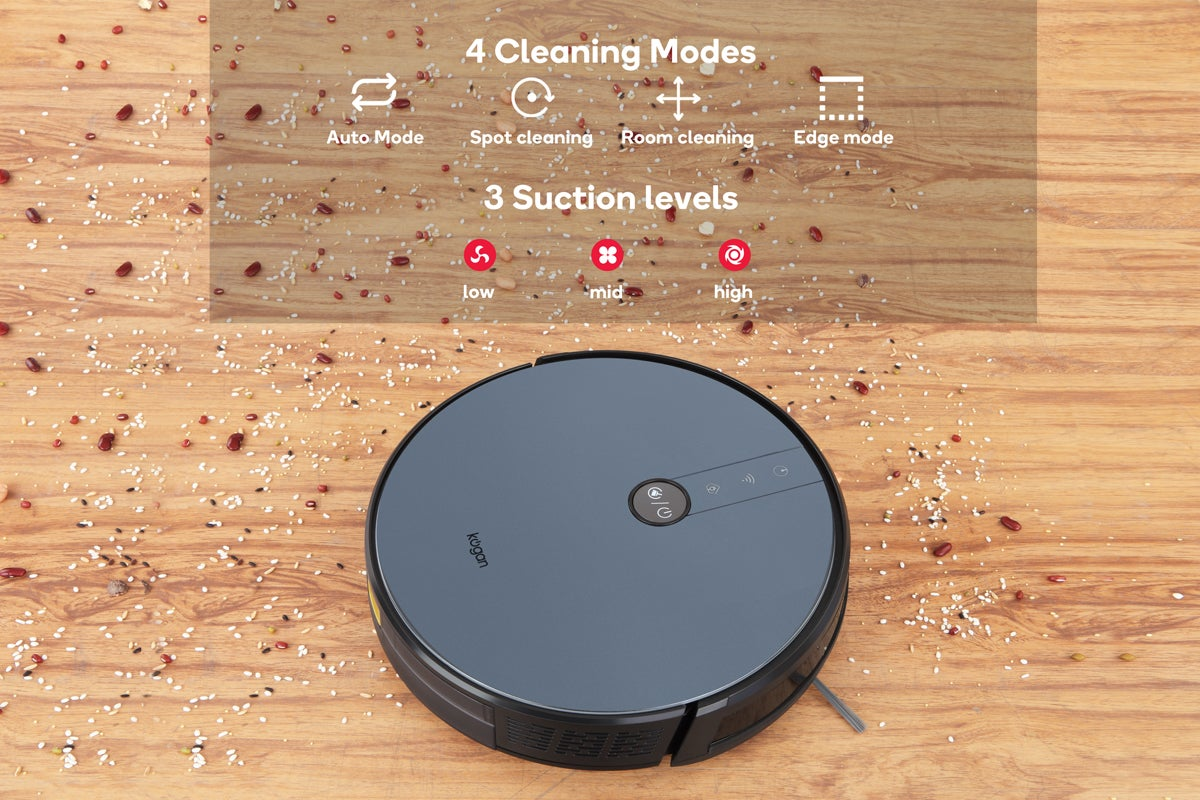 Kogan SmarterHome(tm) G50 Smart Robot Vacuum with Mopping Function