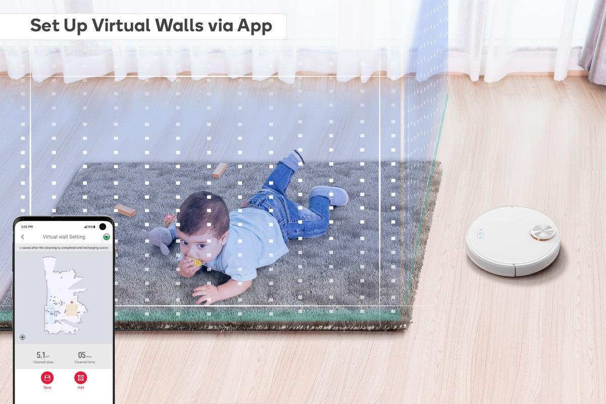 Set Up Virtual Walls via App