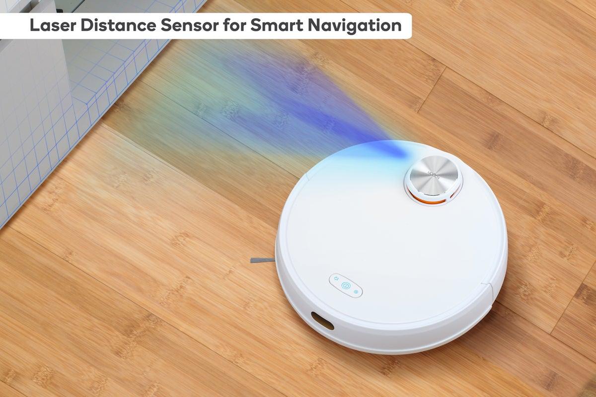 Laser Distance Sensor for Smart Navigation