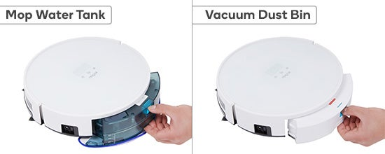 Kogan R40 SmarterHome(tm) Robot Vacuum with Mopping Function