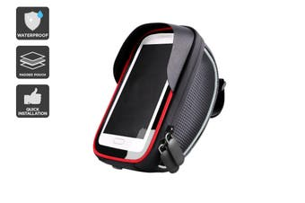 Waterproof Handlebar Mounted Phone Holder & Pouch