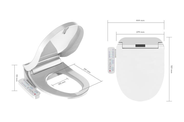 Kogan Smart Wash Dry Electric Bidet Toilet Seat Kogan Com