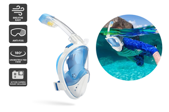 Komodo Breathe Easy TruVision Snorkel (S / M)