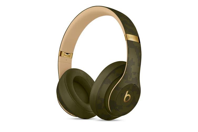 Beats Studio3 Wireless Over-Ear Headphones (Forest Green)