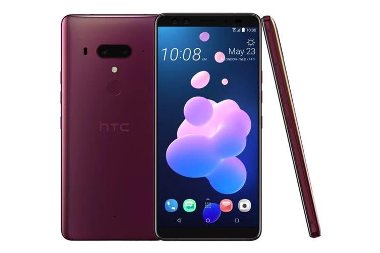 HTC U12+ Dual SIM (128GB, Flame Red)