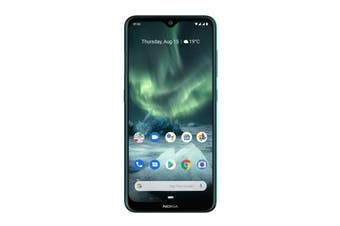 Nokia 7.2 (128GB, Cyan Green) - AU/NZ Model