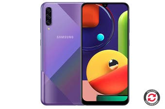 Refurbished Samsung Galaxy A50s Dual SIM (4GB RAM, 128GB, Prism Crush Violet)