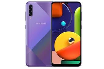 Samsung Galaxy A50s Dual SIM (4GB RAM, 128GB, Prism Crush Violet)
