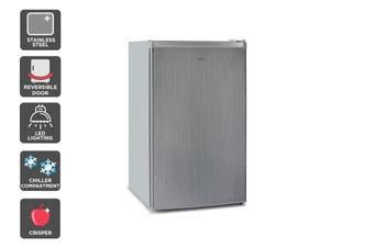 Kogan 129L SteelCold Stainless Steel Fridge