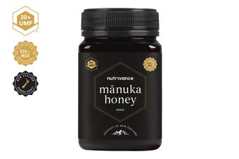 Manuka Honey UMF™ 20+ (500g, Nutrivance, Made In New Zealand)