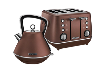 Morphy Richards Evoke Toaster & Kettle Pack - Bronze (100101-240101)
