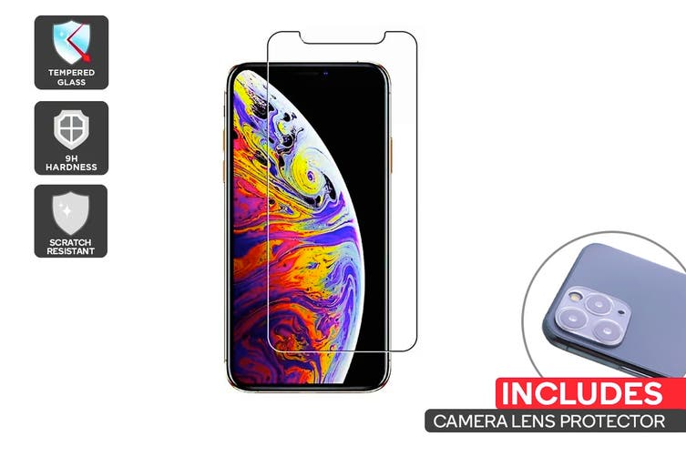 iPhone 11 Pro Screen Protector + Camera Lens Protector Pack