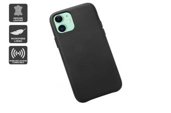 iPhone 11 Premium Leather Case (Black)