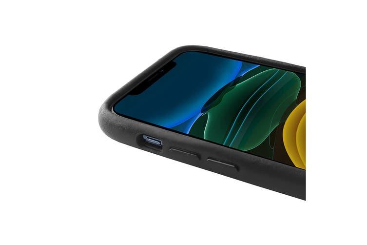 iPhone 11 Pro Premium Leather Case (Black)