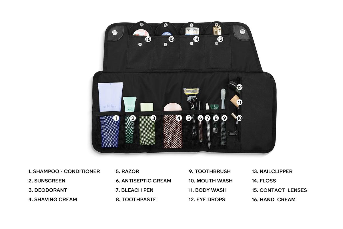 Multi-pocket convenience