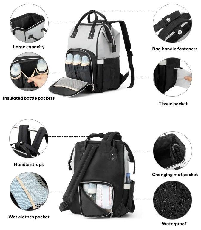 Orbis Multi-Function Nappy Travel Bag