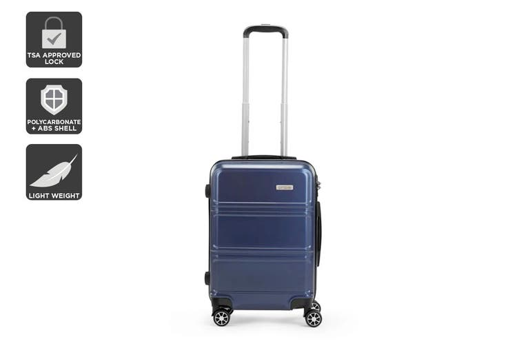 "Orbis 20"" Kuredu Spinner Luggage Case (Midnight Blue)"