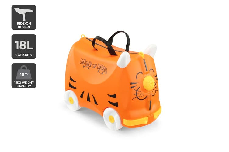 Orbis Kids Ride-On Luggage (Tiger)