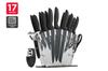 Ovela 17 Piece Professional Stainless Steel Knife Set