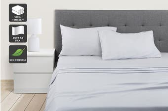 Ovela 100% Tencel™ Bed Sheet Set (Pale Grey)