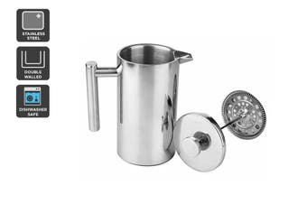 Ovela Stainless Steel Double Wall Coffee Plunger