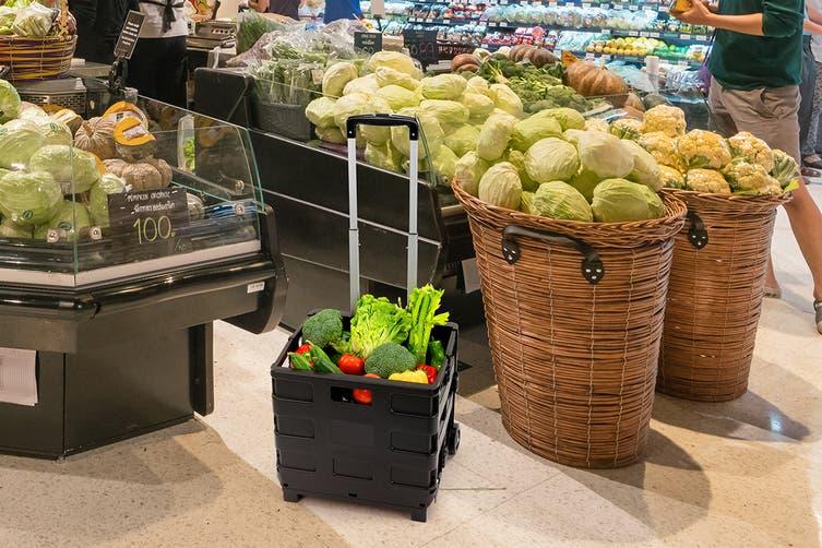 Ovela Foldable Shopping Cart Trolley