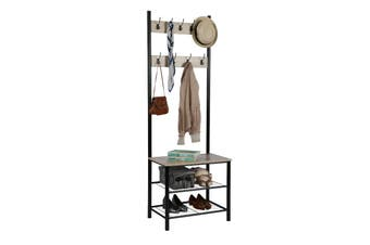 Ovela Hallway Coat Rack (Black)