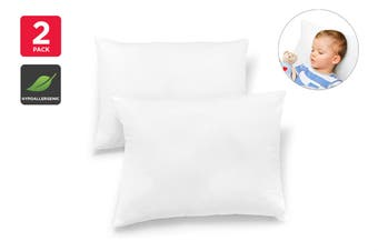 Ovela Set of 2 Kids Junior Antibacterial Pillows