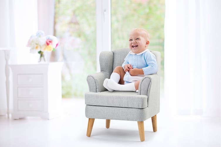 Ovela Kids Armchair (Grey)