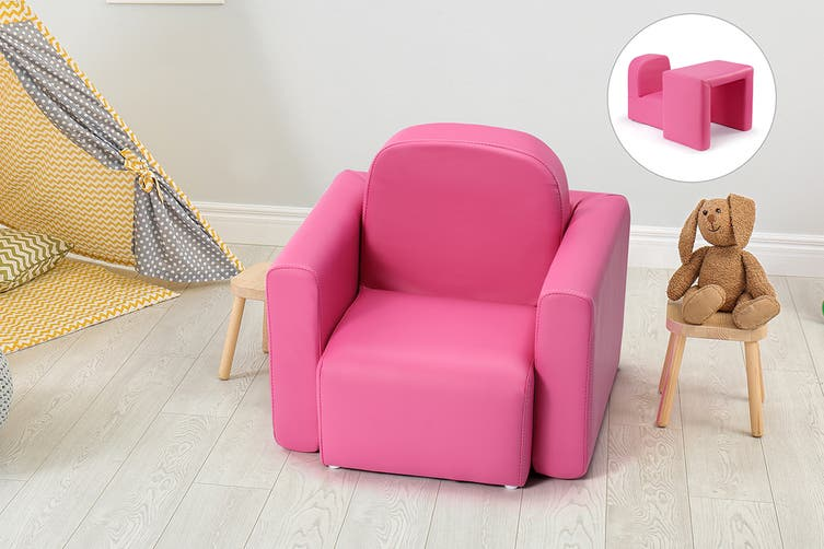 Ovela Kids Transformer Chair Table (Hot Pink)