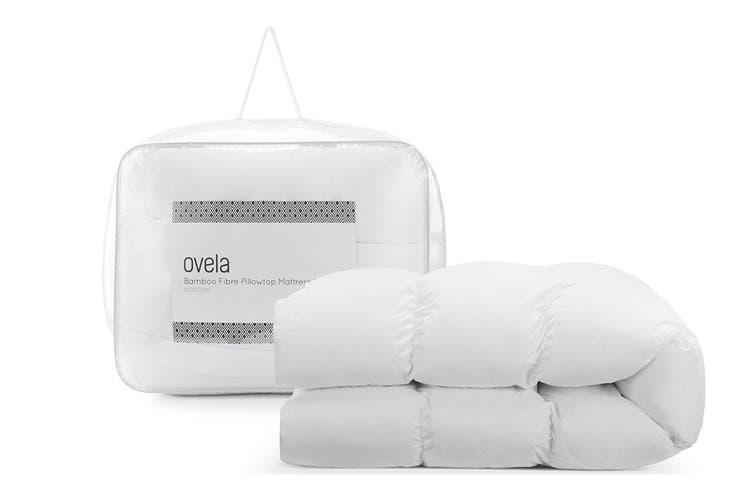 Ovela 1000GSM Bamboo Fibre Pillowtop Mattress Topper (Super King)
