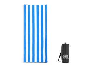 Ovela Sand Free Beach Towel (Blue)