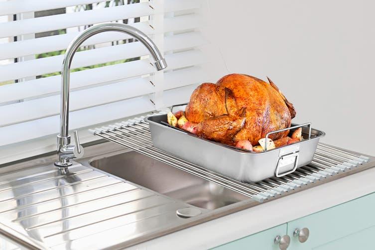 Ovela Rollable Sink Top Dish Rack