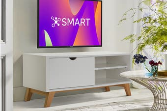 Ovela TV Entertainment Unit - Finse Collection (120cm, White)