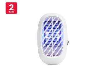 Pestill Plug-In Night Light Bug Zapper (2 Pack)