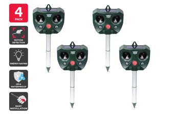 Pestill Solar Ultrasonic Possum & Pest Repeller (4 Pack)