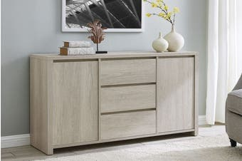 Shangri-La 3 Drawer 2 Door Buffet - Alta Collection (Dusky Oak)