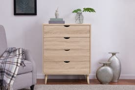 Shangri-La Chest of 4 Drawers - Nyhavn Collection (Oak)