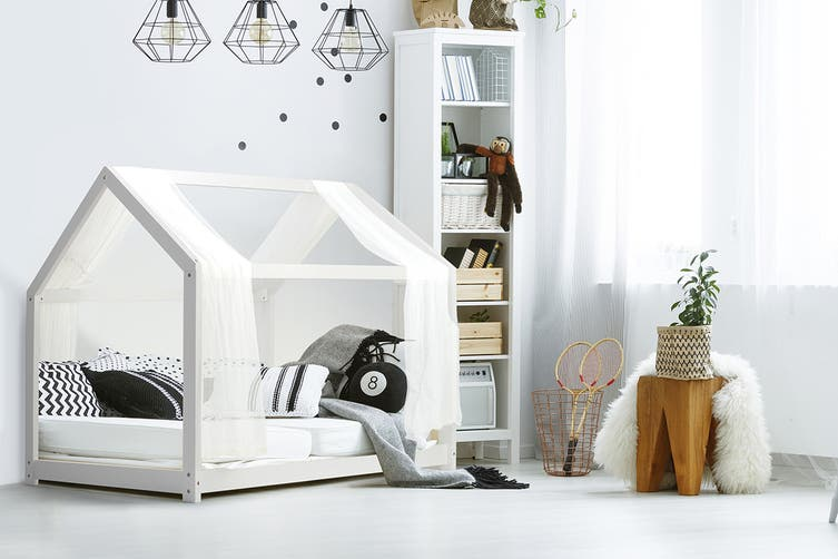 Shangri-La Kids House Bed (White)